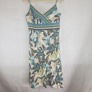 Ann Taylor Womans Size 6 100% Cotton Floral